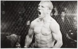 UFC Fighting Television Images