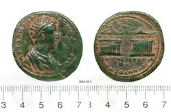 Coin of Commodus, Emperor of Rome from Tarsus