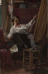 Self-Portrait of the Artist in His Studio