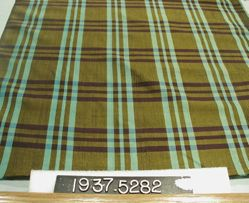 Length of hand woven cloth