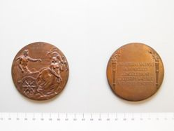Bronze medal for the bicentennial of Yale College