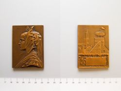 Bronze Plaque Alsace