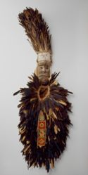 Bird Headdress with Mask (Kpakologi) and Costume (Onilegagi)