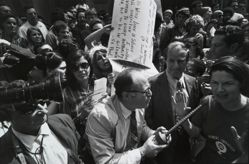 New York City 1971 (Women's Liberation March), from the Garry Winogrand portfolio, 1978