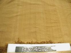 Shawl of plain cloth weave