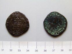 2 Quartos of Ferdinand V, King of Spain; Isabella I, Queen of Spain from Burgos