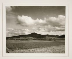 View of the Ölberg from Hasselbach, from the portfolio Rhineland Landscapes by August Sander