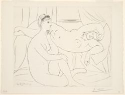 Femmes se reposant (Reclining Woman), from the Vollard Suite