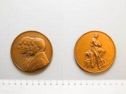 Belgian Medal In Honor of Four Who Opposed the Deportation of Belgians into German Slavery