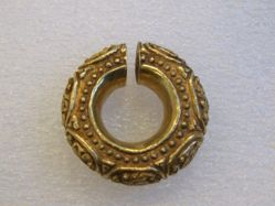Large Round Ear Ornament