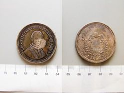 5 Lire of Pope Leo XIII from Bologna
