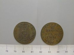 1 Thaler of King Karl XI of Sweden from Stettin