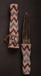 Beaded Dagger and Sheath