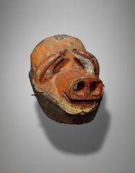 Mask Representing a Pig