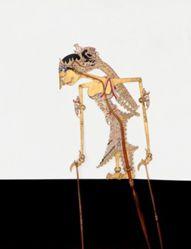 Shadow Puppet (Wayang Kulit) of Manten, from the consecrated set Kyai Nugroho