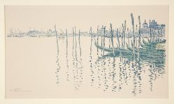 Untitled (Venetian waterscape)