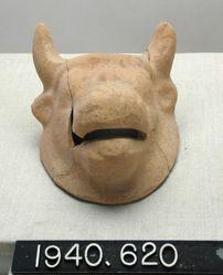 Terracotta Bull's Head
