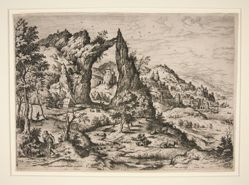 Judas and Thamar, from Landscapes with Biblical and Mythological Scenes