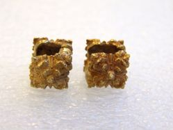 Pair of Ear Ornaments in Two parts