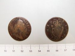 Half penny of George III from Ireland