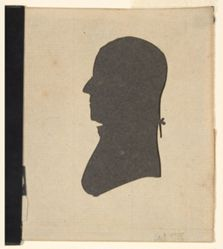 Silhouette - Gov. Trumbull (Brother of Col. Trumbull)
