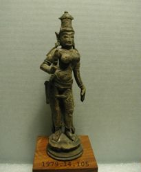 Parvati, Consort of Shiva, as Devi