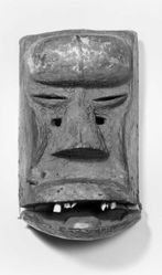 Mask Representing an Old Man
