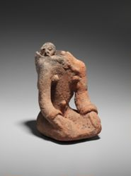 Kneeling Maternity Figure