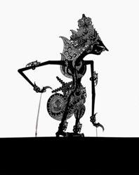 Shadow Puppet (Wayang Kulit) of Kresna, from the consecrated set Kyai Nugroho
