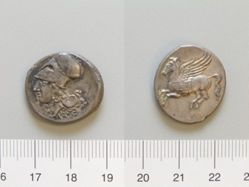 Stater from Medma (?)