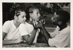 Biggie, Nadia and Martin, Caribe Gardens, Brooklyn, NY, 1999