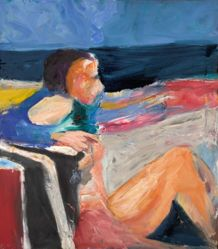 Bather on the Sand