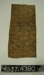 Fragment of compound cloth