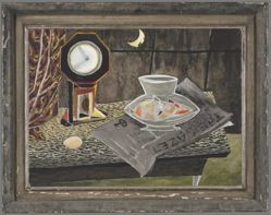 Still Life with Clock