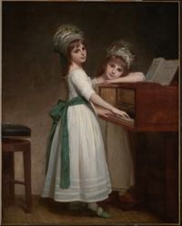 Portrait of Maria and Catherine, the Daughters of Edward Thurlow, 1st Baron Thurlow