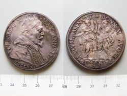 1 Scudo of Pope Clement X from Rome