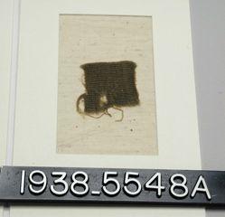 Textile, plain tapestry fragment