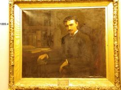 Thomas Glasby Waterman (1862-1889), B.A.1886
