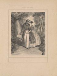 Causerie, from the series Scènes de la vie intime