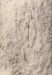 Atabey (Mother of the Waters), from the series Esculturas Rupestres (Rupestrian Sculptures)