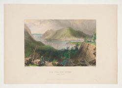 View from Fort Putnam (Hudson River), illustration for Nathaniel Parker Willis's book American Scenery