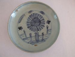 Blue and White Deep plate