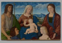 Virgin and Child with Saints and Donors