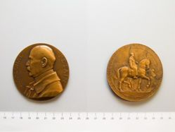 Medal of Marshal Petain and the Entry into Metz from France