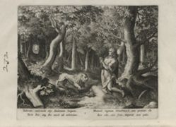 Iosaphat, number 1 of 25 numbered plates from Trophaeum Vitae Solitariae (Male Hermits)
