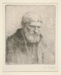 Etude de vieillard (Study of an Old Man)
