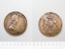 Silver medal of George III