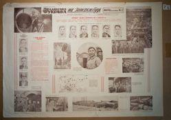 At the Zaporizhbud. Photo-newspaper №2, from the newspaper Soviet Ukraine