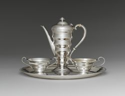 "Coffee Service, ""Modernist"" Pattern"
