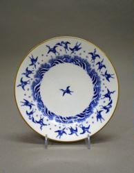 "Plate, ""Japanese Crane"" Pattern"